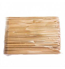 Patyczki drewniane do skórek 17,8 cm - 100 szt.
