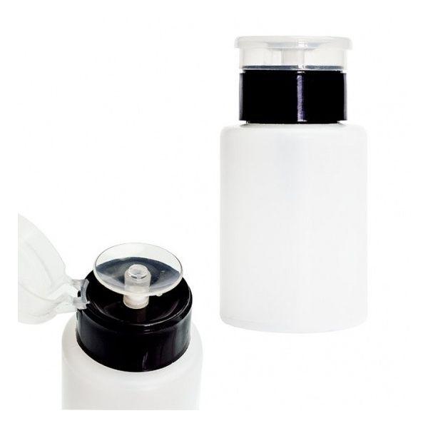Butelka kosmetyczna z pompką 150 ml - czarna
