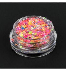 Brokat Neon 2g - różne kolory - 01