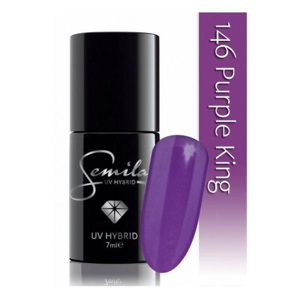 Lakier hybrydowy 146 Purple King