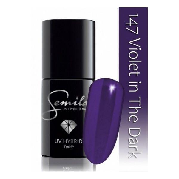 Lakier hybrydowy 147 Violet in the Dark