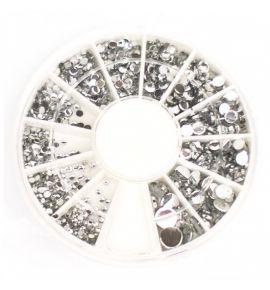 Karuzela ozdoba cyrkonie kryształki mix R120