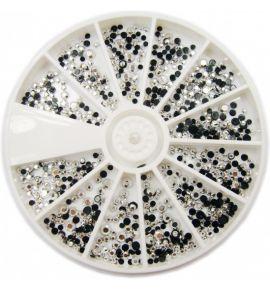 Karuzela ozdoba cyrkonie kryształki mix R104