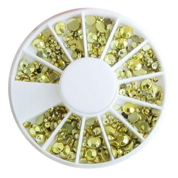 Karuzela ozdoba cyrkonie kryształki mix R122