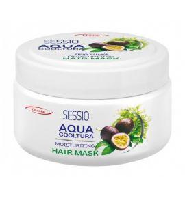 SESSIO AQUA COOLTURA Maska Nawilżająca Marakuja i Algi - włosy suche, łamliwe
