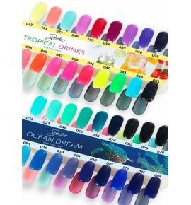 Wzornik kolorów - Ocean Dreams - 18 kolorów