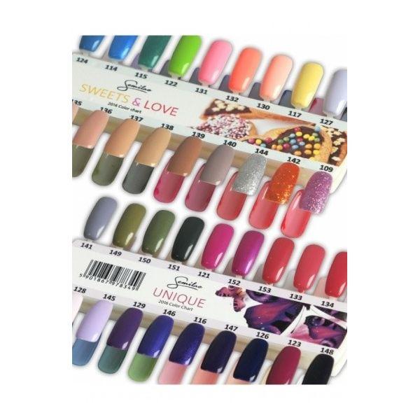 Wzornik kolorów - Sweets & Love - 18 kolorów