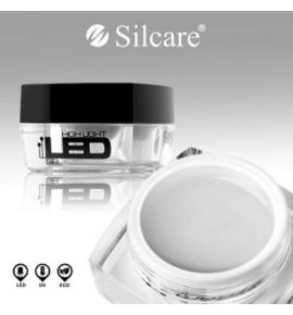 HIGH LIGHT LED GEL Żel do utwardzania w lampie LED i UV - Clear 15g