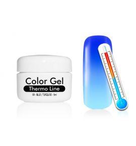 Żel UV Thermo Line - termiczny 08 Blue / Turquise
