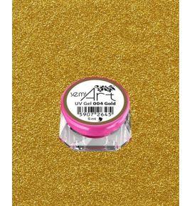Semi Art UV Gel 004 Gold - Żel do zdobień