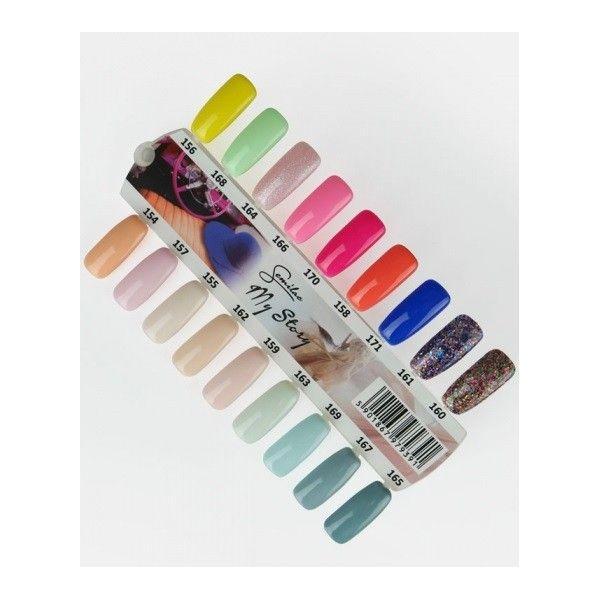 Wzornik ręcznie malowany My Story - 18 kolorów