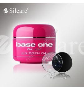 Żel UV Base One Galaxy Brokatowy - 04 Galaxy Unicorn 5g