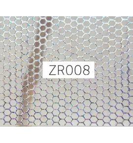 Naklejki do paznokci 3D - holograficzna siatka ZR008