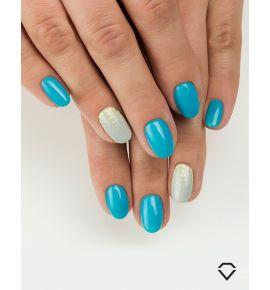 Semilac Lakier Hybrydowy by Margaret 523 Delicate Blue
