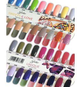 Wzornik kolorów - Unique - 18 kolorów