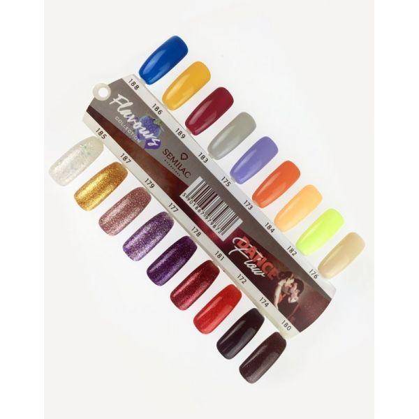 Wzornik kolorów - Wzornik ręcznie malowany Dance Flow/Flavours - 18 kolorów