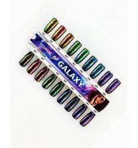 Wzornik ręcznie malowany Semilac Flash Galaxy - 18 kolorów