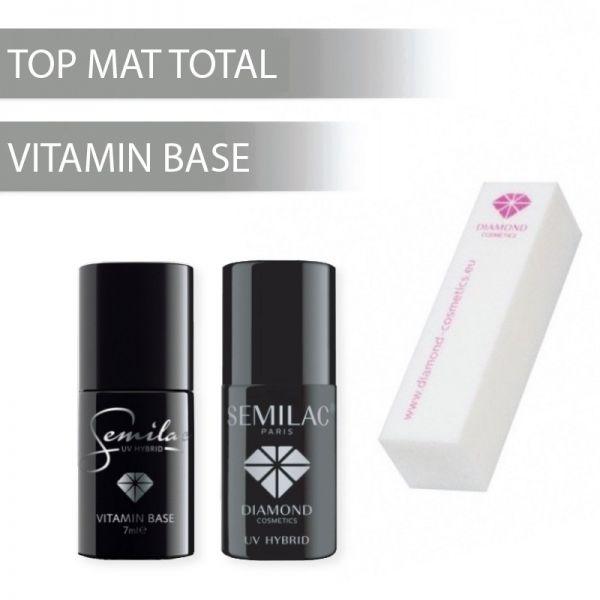 Zestaw Top Mat Total + Baza Witamonowa + Blok gratis