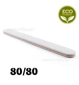 Pilnik biały prosty - gradacja 80/80