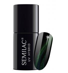 Semilac Lakier Hybrydowy  Cat Eye 3D 634 Green