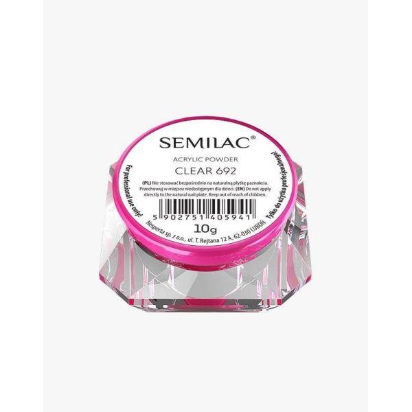 Semilac Acrylic Powder Clear 692