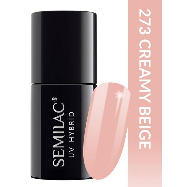 Semilac Lakier hybrydowy PasTells Creamy Beige 273
