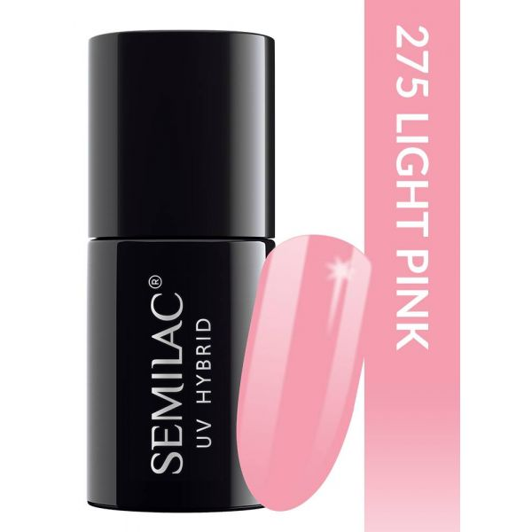 Semilac Lakier hybrydowy PasTells Light Pink 275