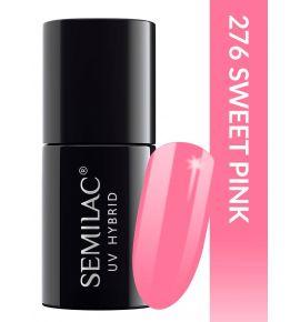 Semilac Lakier hybrydowy PasTells Sweet Pink 276