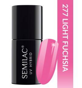 Semilac Lakier hybrydowy PasTells Light Fuchsia 277