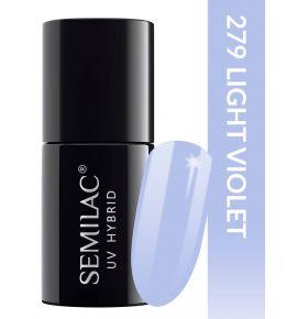 Semilac Lakier hybrydowy PasTells Light Violet 279