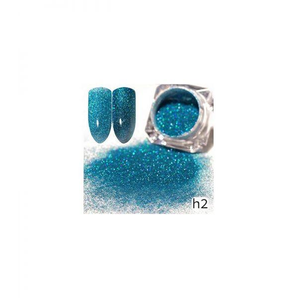 Efekt Sparkling Dust holo szron 2w1 w słoiczku h2 - Amazing Line