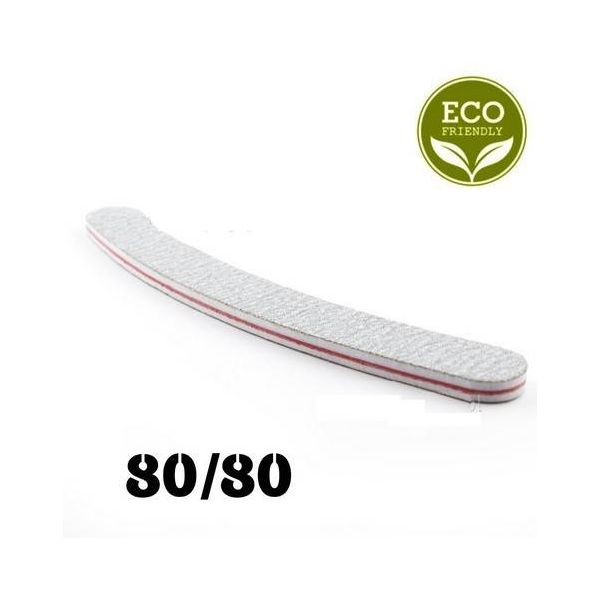 Zestaw 5 sztuk - Pilnik biały banan 80/80
