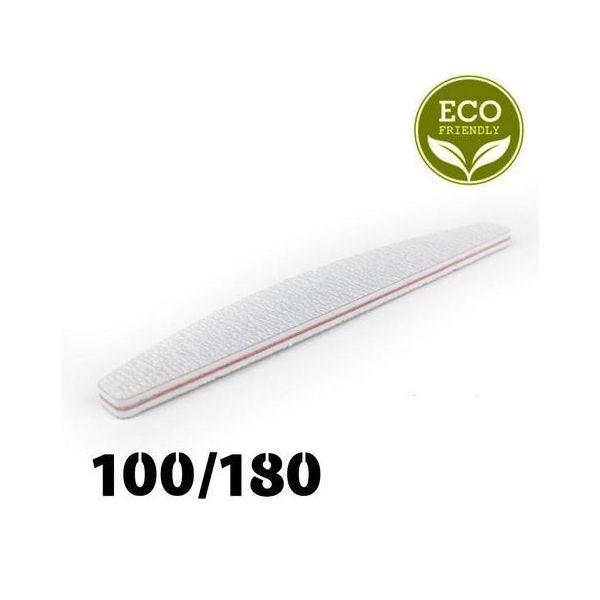 Zestaw 5 sztuk - Pilnik biały łódka 100/180