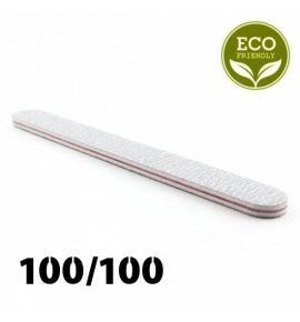 Zestaw 5 sztuk - Pilnik biały prosty 100/100