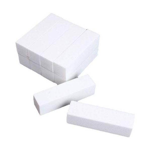 10 x Blok Polerski Polerka Pilnik Biały