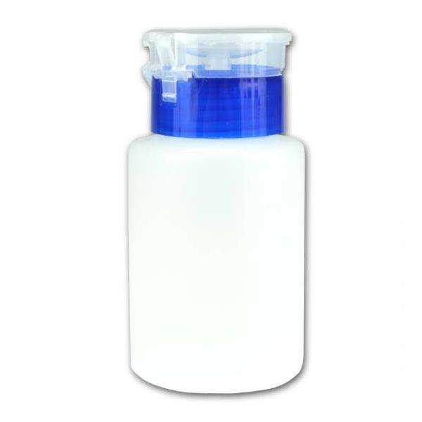Butelka kosmetyczna z pompką 150 ml - niebieska