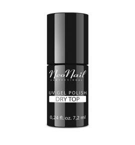 NeoNail Lakier Hybrydowy 7,2 ml - DRY TOP (bez przemywania)