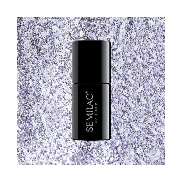 297 Lakier hybrydowy Semilac Violet Shimmer 7ml