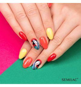 902 Semilac Beauty Salon Lakier Hybrydowy Lemon Yellow