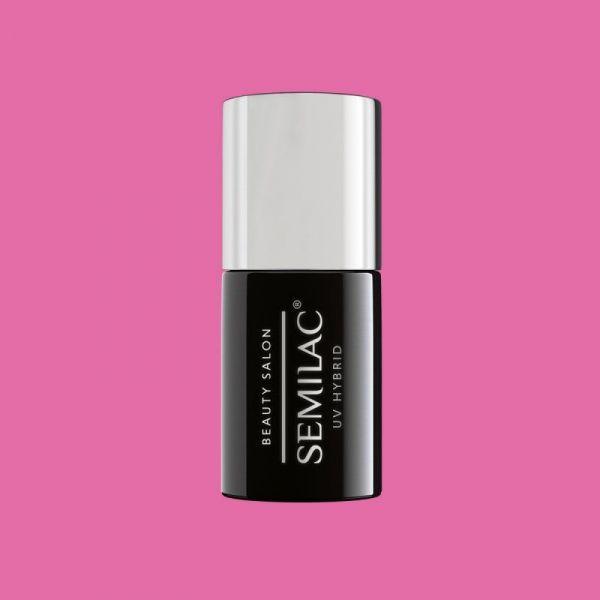 906 Semilac Beauty Salon Lakier Hybrydowy Strong Pink