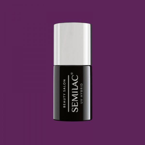 916 Semilac Beauty Salon Lakier Hybrydowy Deep Plum