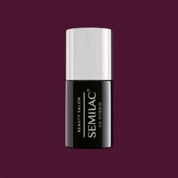 917 Semilac Beauty Salon Lakier Hybrydowy Black Chocolate