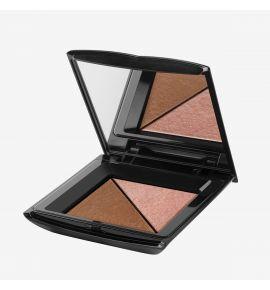 Semilac Bronzer i rozświetlacz Sunny Bronze 2x2,5 g