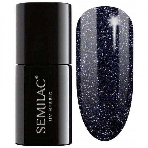 341 Lakier hybrydowy UV Hybrid Semilac Shimmer Teal 7ml